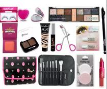 Kit Maquiagem Completo Ruby Rose Luisance Brinde Necessaire