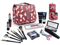 Kit Maquiagem + Frasqueira Luisance Ruby Rose + Grandes Marcas - Bazar Na Web