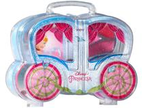 Kit Maquiagem Infantil Carruagem Cindela View - 3 Peças