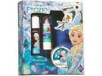 Kit Maquiagem Infantil Elsa View 3 Peças -