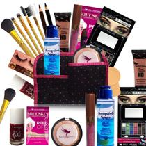 Kit Maquiagem Lip Tint Completo Bella Femme Pele Negra -
