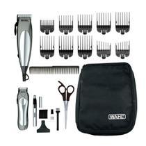 Kit Máquina de Cortar Cabelo Wahl + Aparador de Pêlos de Luxe Groom Procom 8 Pentes de Corte -