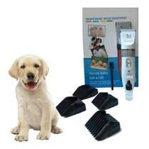 Kit Máquina de Tosa Profissional Cães Pet Pilha Recarregável - Lapan
