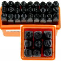Kit Marcador Punção Alfa Numerico 6mm Letra E Numero - STARFER
