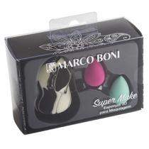 Kit Marco Boni Esponjas 3D para Maquiagem -