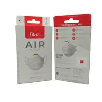 Kit Máscara Fiber Knit Air + Suporte + Refil 30un. -