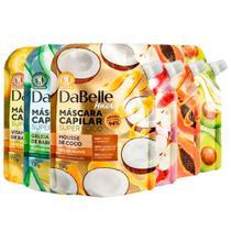 Kit Máscara Hair Mask Dabelle Super Food - 6 Unidades - DUTY