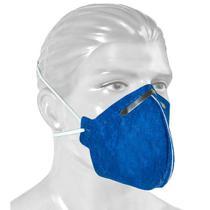 Kit Máscara N95 PFF2 Descartável Profissional de Proteção Respiratória - 50 Unidades - Ortoponto