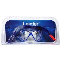 Kit Máscara + Snorkel Leader LD296 -