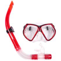 Kit Máscara + Snorkel Leader LD296
