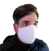 Kit Máscara Tecido Algodão Premium 3 Camadas Anatômica Clipe Nasal e salva orelhas - Tekhné