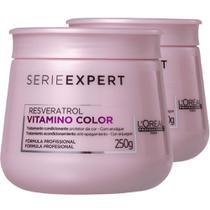 Kit Máscara Vitamino Color Resveratrol 2x250g L'Oréal - Loreal