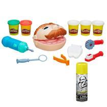 Kit Massa de Modelar - Play-Doh - Dentista e Refil Nerf - Fluído de Dardo - Nerf Zombie - Abolisher - Hasbro -