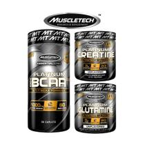 Kit massa magra muscletech platinum -
