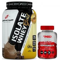 Kit massa muscular isolate whey gold 1,800kg + gh bolic (100tabs) - Body Action