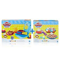 Kit Massas de Modelar - Play-Doh - Kitchen Creations - Café da Manhã e Tortas Divertidas - Hasbro