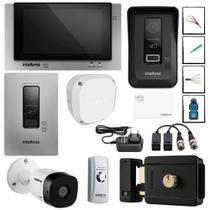 Kit Master Video porteiro display touch screen Consultorio - Intelbras