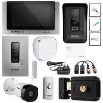 Kit Master Video porteiro display touch screen P/ Escritorio - Intelbras