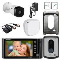 Kit Master Video Porteiro IV 7010 Hf Intelbras Camera Extra -