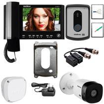 Kit Master Video Porteiro IV 7010 HS Intelbras Camera Extra -