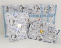Kit Maternidade - 4 Saquinhos E 2 Necessaires - Alinhado Baby
