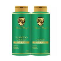 Kit Matizador Green Shampoo + Máscara 300ml - Robson Peluquero - Senscience