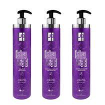 Kit Matizador Produtos para o Cabelo Loiro Shampoo Condicionador Mascara 1 Litro - Urban Beauty