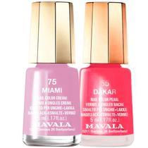 Kit Mavala Mini Colours Miami e Dakar de Esmaltes (2 produtos) -