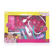 Kit Médica Barbie Fun Médio - 7496-4 - Mattel