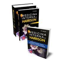 Kit Medicina Interna de Harrison + Harrison Preparação para Provas e Concursos - Mcgraw-Hill -