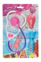 Kit Médico Infantil Menina Princesas Disney Etilux Dy-030 -