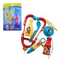Kit Médico Infantil Menino Mickey Disney Etilux Dy-150 -