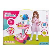 Kit Médico Mini Doutor Rosa - Fênix - Fenix