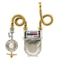 Kit Medidor de Gás G-1 + Regulador 5 Kg/h - CONSIGÁS PEÇAS
