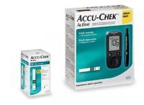 Kit Medidor De Glicose Accu-chek Active Roche + 50 Tiras* -Diagnostico de Diabetes -