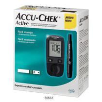 Kit Medidor De Glicose Accu-Chek Active - Roche -