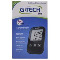 Kit Medidor de Glicose G-Tech Free Lite c/ 10 Tiras -