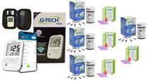 Kit Medidor de Glicose G-TECH Free Lite Smart Completo Com Bluetooth + 200 Tiras Reagentes + 200 lancetas -
