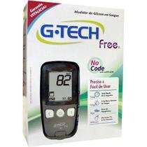 Kit Medidor de Glicose G-Tech MGKTFR1 Co