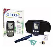 Kit Medidor De Glicose Glicosimetro Glicemia Free Gtech - G-Tech