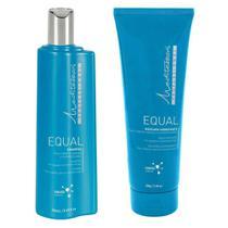 Kit Mediterrani Equal Shampoo 250ml + Mascara 200g -