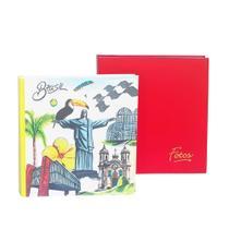 Kit Mega Álbum Vermelho e Cristo 500 Fotos 10x1 - Ical