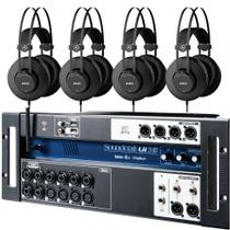 Kit Mesa Digital UI16 + 4 Fones AKG K52 - Soundcraft