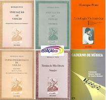 Kit Método Henrique Pinto 5 Livros + Caderno Musica - Violão - Ricordi