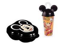 Kit Mickey: Porta Mix - Copo Mickey - Rignel