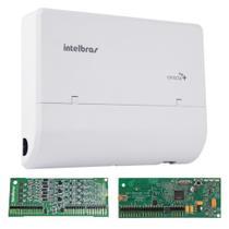Kit Microcentral Conecta Mais 2x8 Com Placa Dect Intelbras -