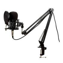 Kit Microfone BM800 Pro XLR/P2 Estúdio Profissional - Vedo