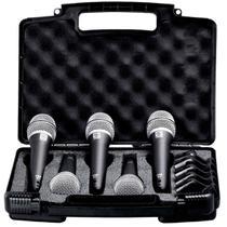 Kit Microfone de Mão PRA D5 sem Chave (5 Peças) - SUPERLUX -
