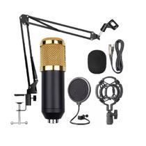 kit Microfone Estúdio Bm800 Pop Filter Aranha e Braço Articulado - Knup