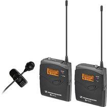 Kit Microfone Sem Fio Lapela ME4 Sennheiser EW 122-P G3 Wireless com Montagem de Câmera (B:626-668MHz) -